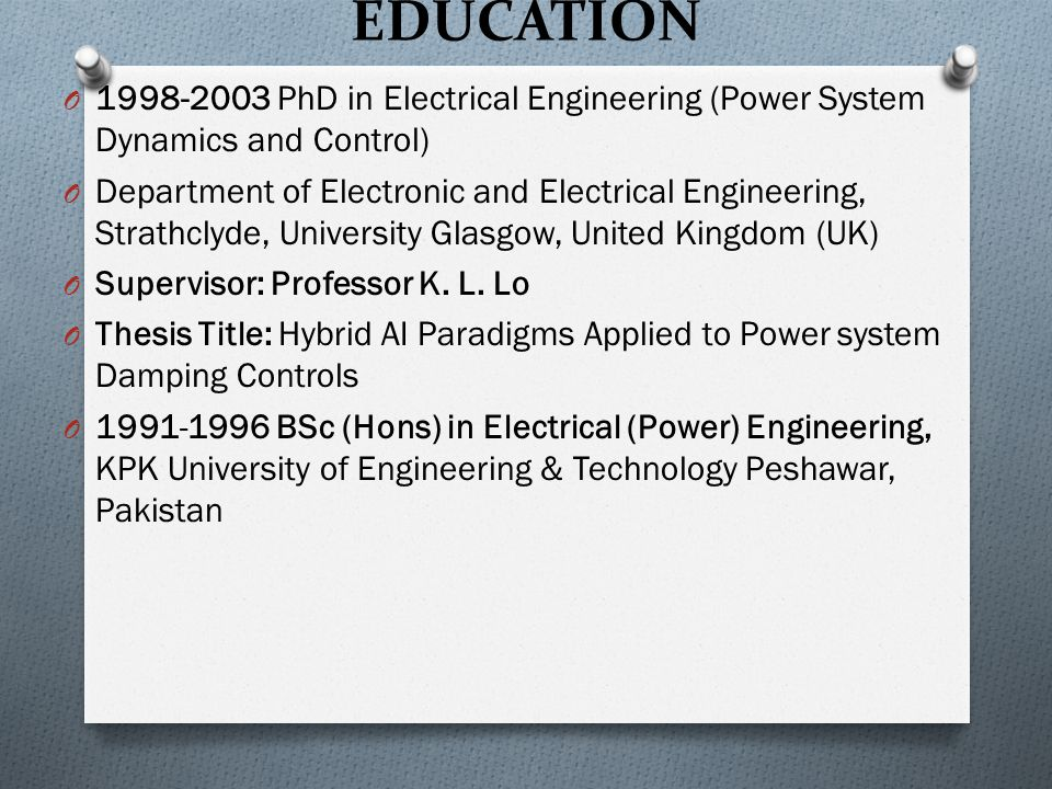 thesis on education system in pakistan Problems of education in pakistan 1 medium of education: the system of education in pakistan is operative in.