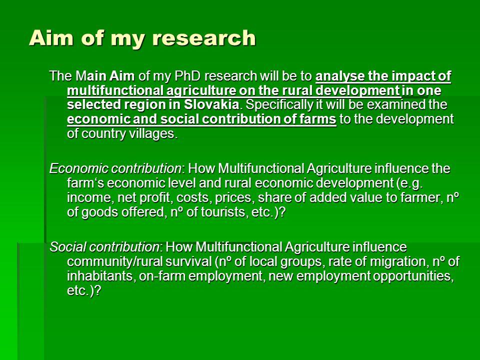 Rural development phd thesis