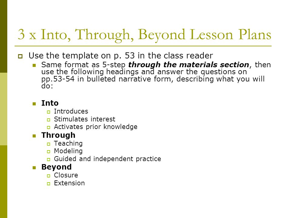 Pretty 5 Step Lesson Plan Template Images Gallery 7 Lesson Plan
