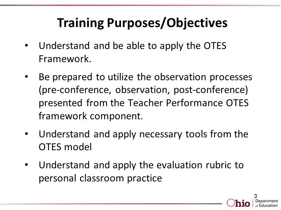 Otes Teacher Evaluation Teacher Login: Ohio Teacher Evaluation System  Assessment of Teacher Performance    ,
