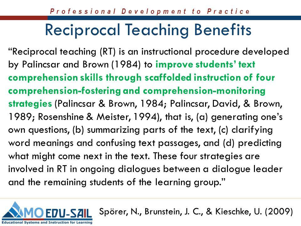 reciprocal teaching definition