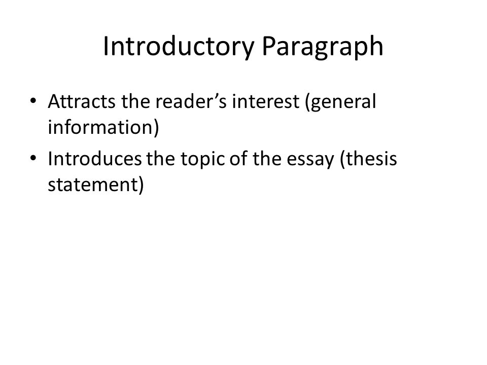 how to write a good introduction paragraph for an essay how to  teaching students to write effective essays