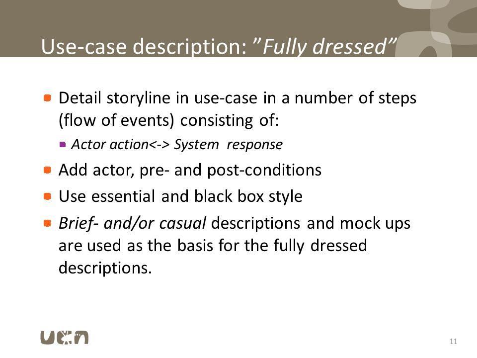 case discription