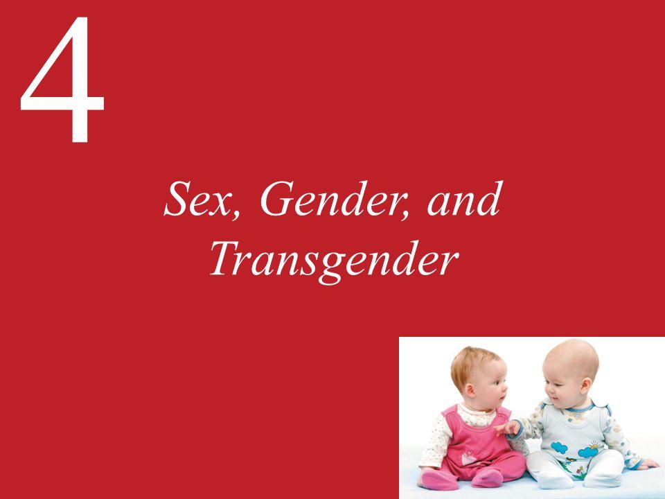 4 Sex, Gender, and Transgender