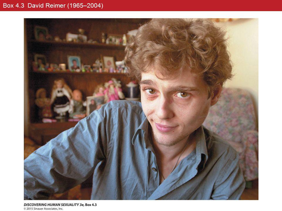 Box 4.3 David Reimer (1965–2004)