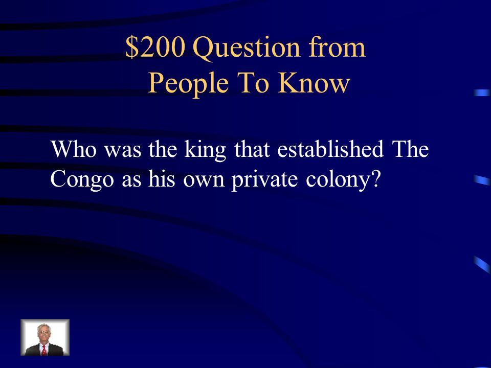 $100 Answer Nelson Mandela