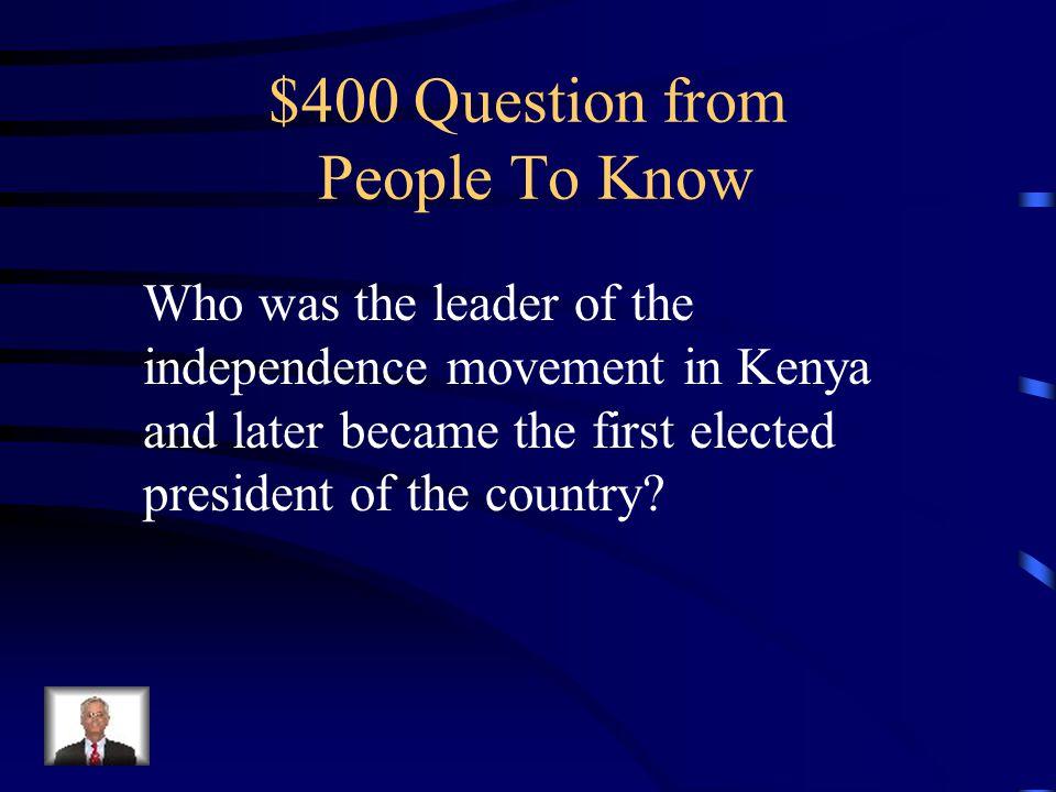$300 Answer Stephen Biko