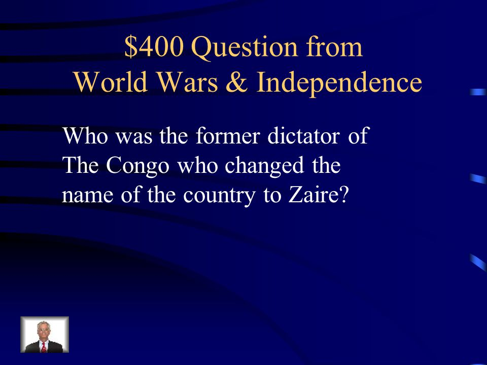 $300 Answer 1.Nationalism 2.Pan-Africanism