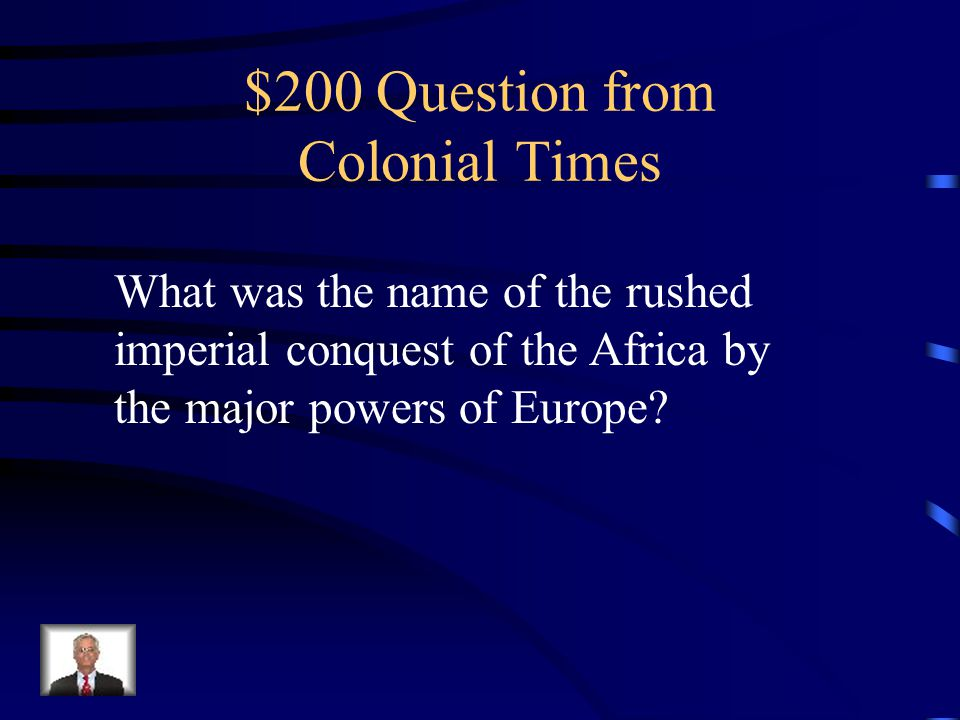 $100 Answer Imperialism