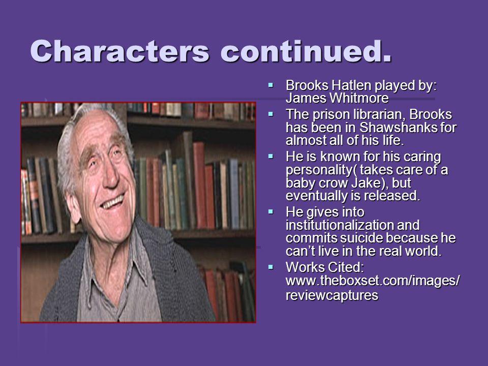 Shawshank Redemption character development?