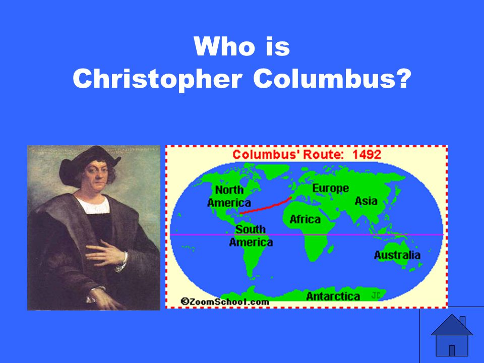 Who is Christopher Columbus