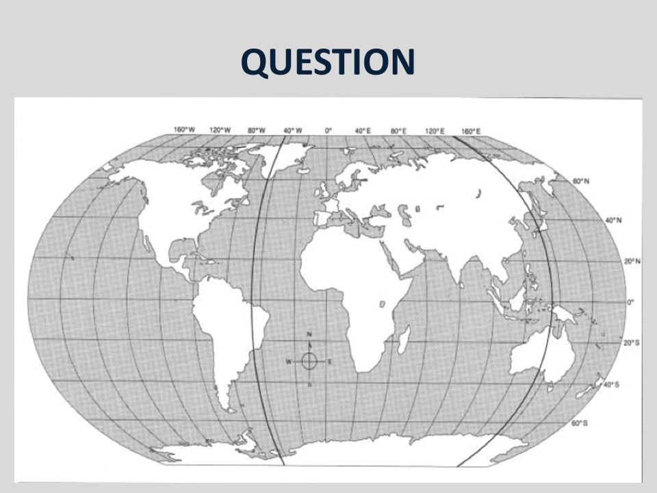 QUESTION Locate: The Cape of Good Hope