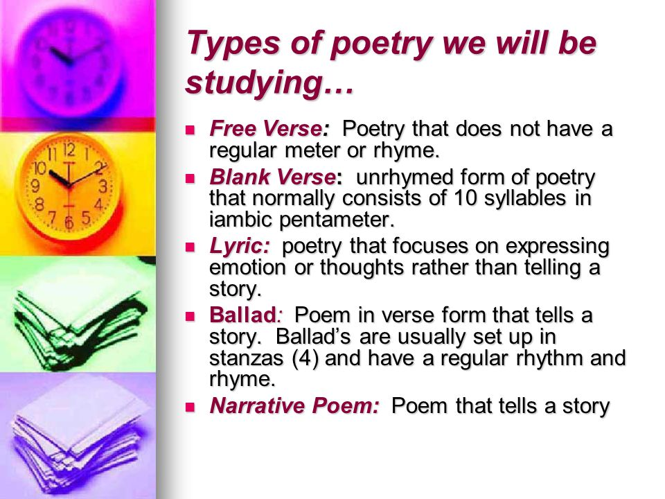 lyric free verse and ballad poems Synonyms for lyrics at thesauruscom with free online thesaurus, antonyms, and definitions dictionary and word of the day.