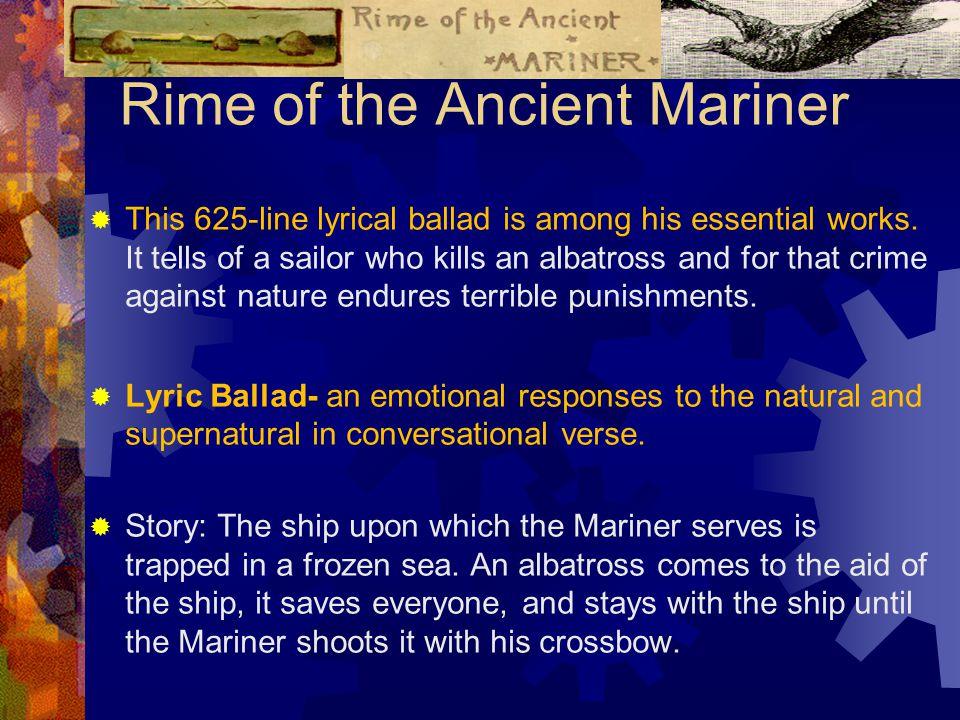 preface to lyrical ballads