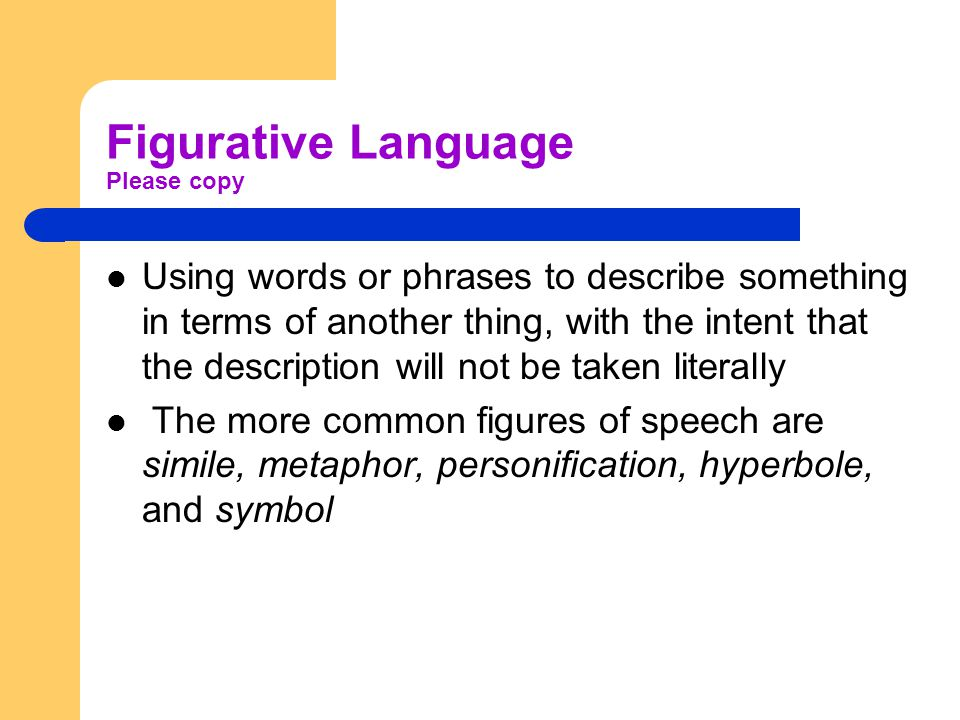 Understanding Poetic Structure Figurative Language Sound Devices ...