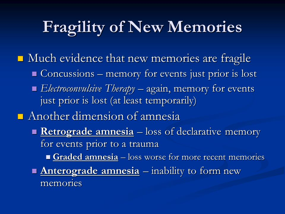 Memory and Cognition PSY 324 Topic: Long-term Memory- Encoding and ...