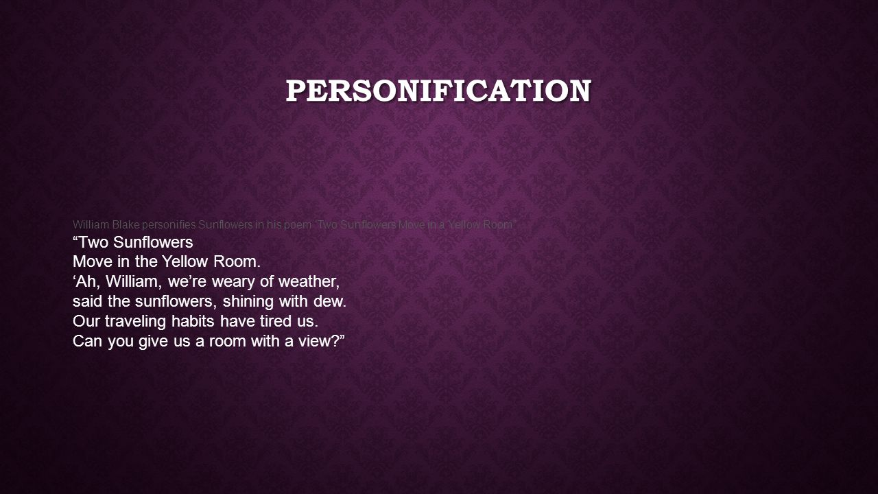 creative writing unit one common literary terms session ppt 5 personification