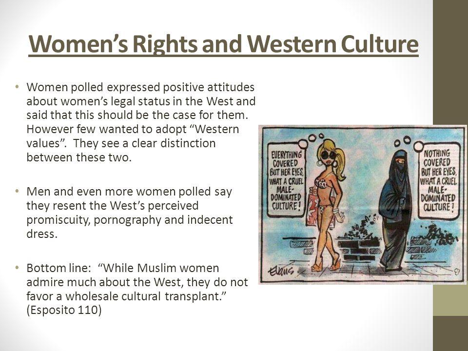 dominated culture male Muslim a women what