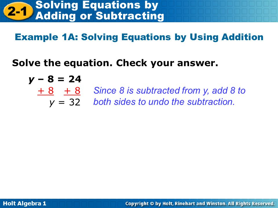 Forming And Solving Equations Worksheet With Answers Templates – Solving Equations by Adding or Subtracting Worksheets