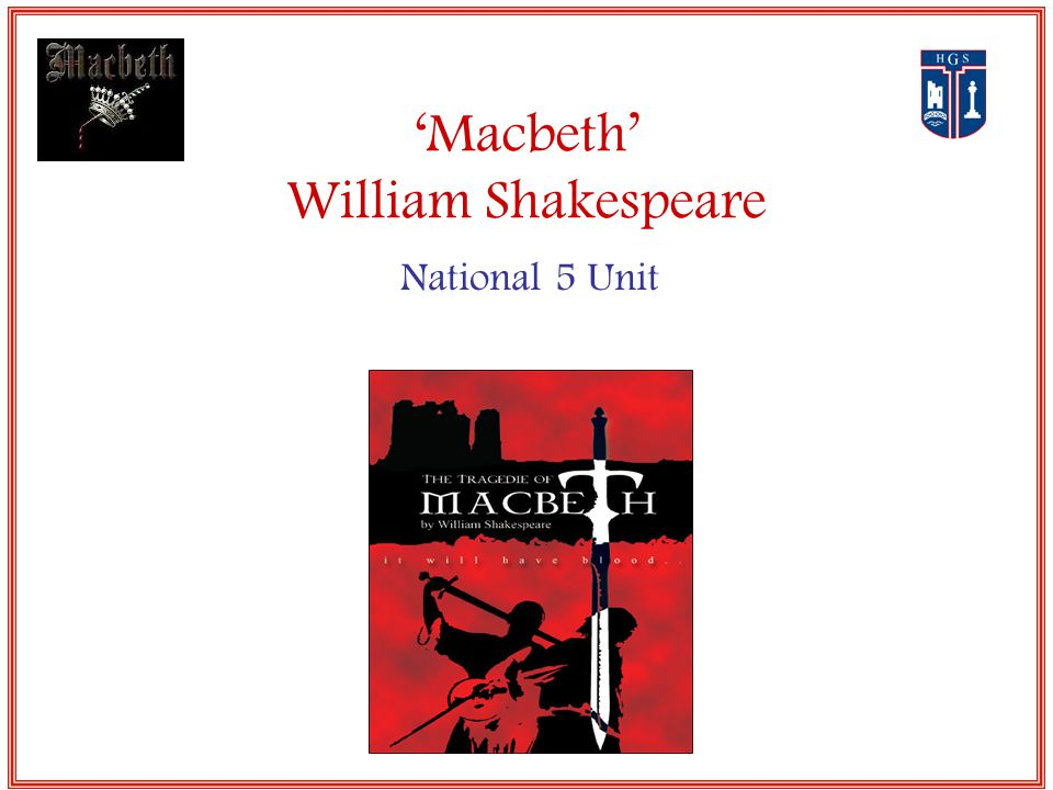 the motive of evil in william shakespeares play macbeth Macbeth, the play which is considered shakespeare's most intense tragedy, is condensed into this plot summary, capturing the essence and important plot points of the bard's shortest play.