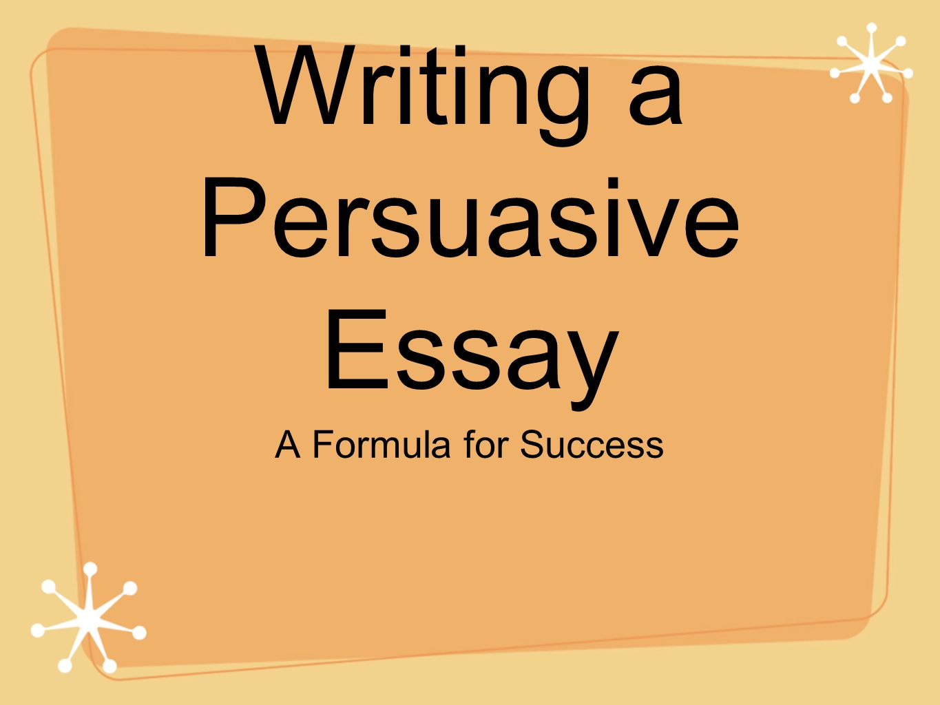 Essay Writing On Success