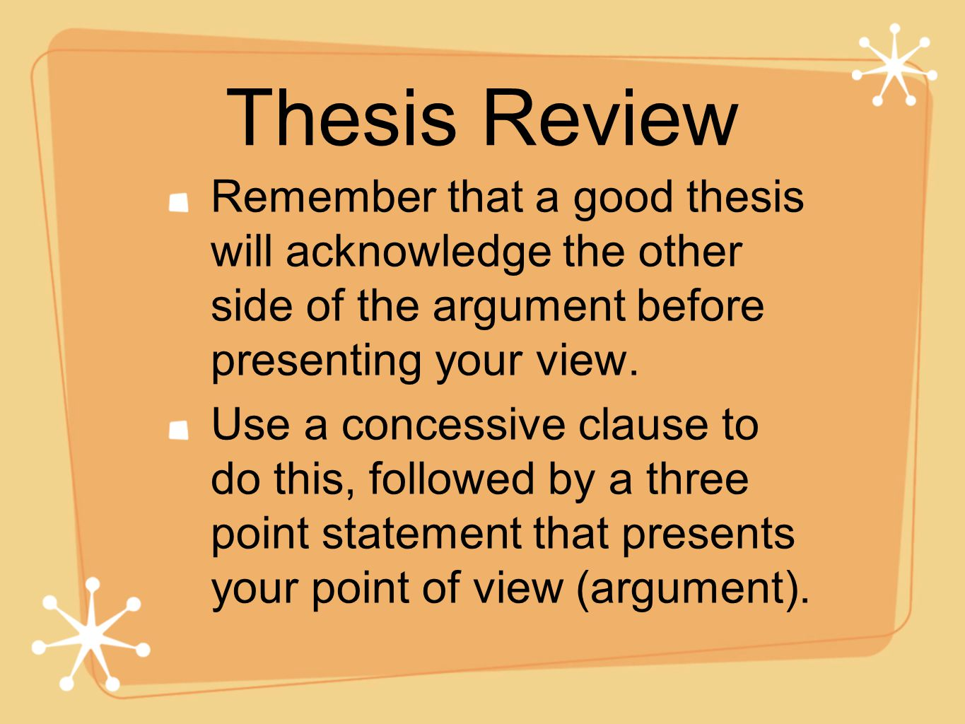 Thesis Statement Persuasive Essay