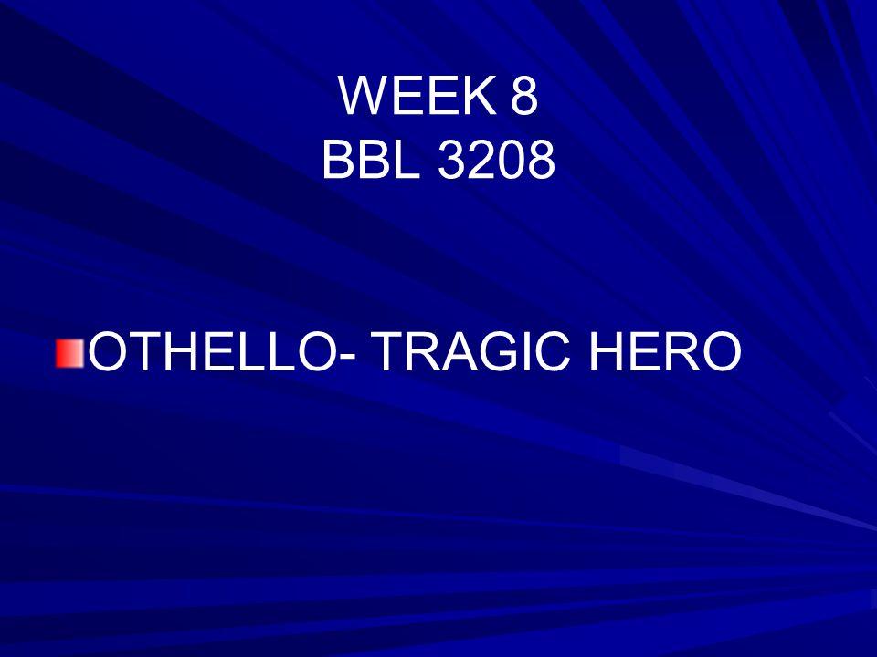 Othello As A Tragic Hero Essay