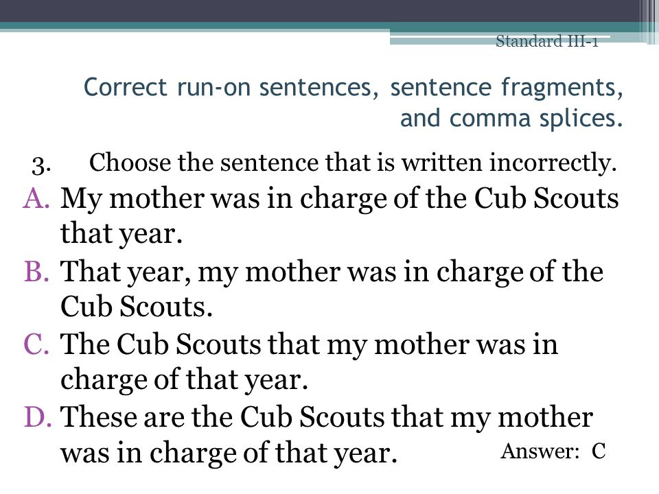 Is my sentence correct