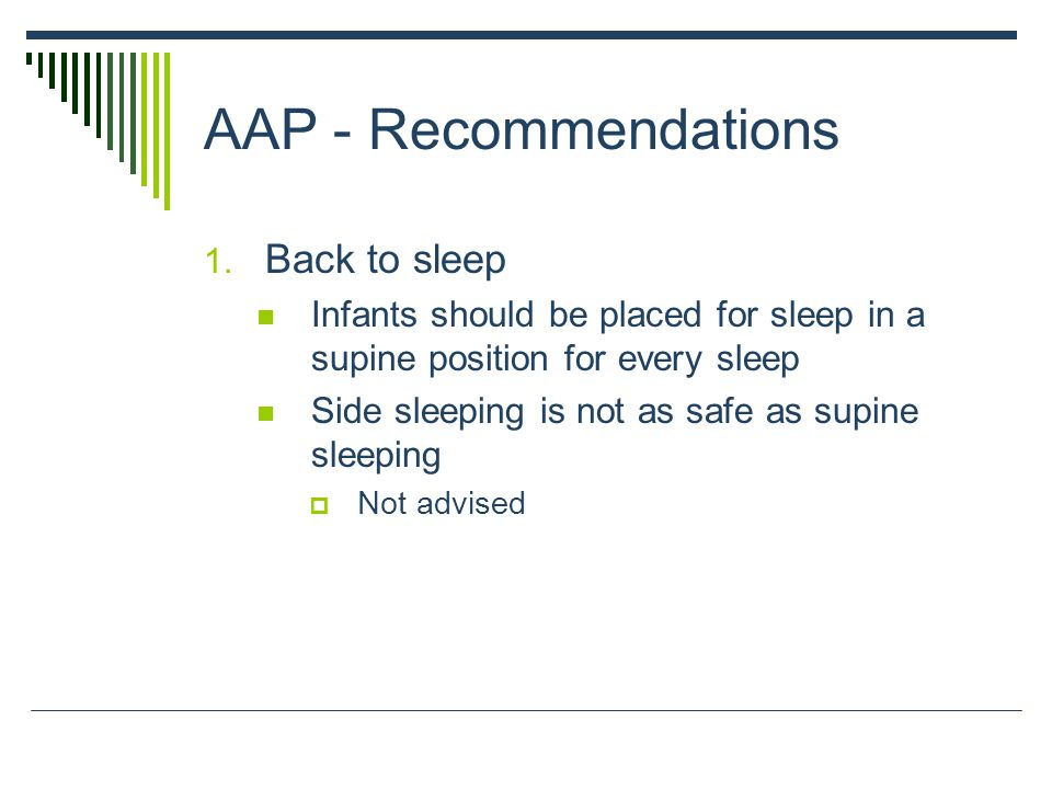 AAP - Recommendations 1.
