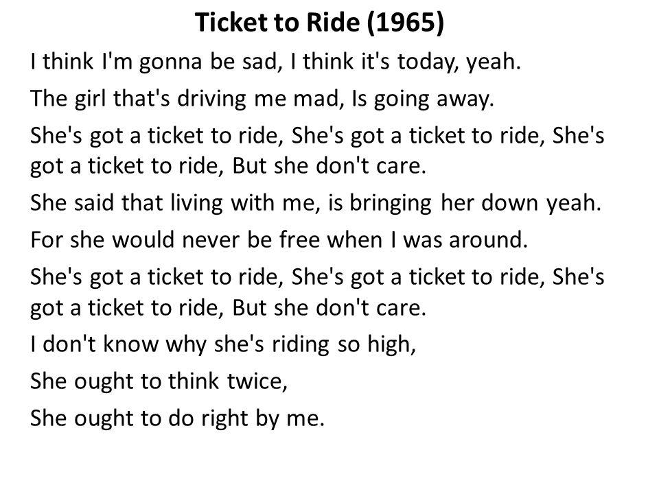 Lyric shes got you lyrics : Live at the cavern (1962). Live at the cavern (1962) - ppt video ...
