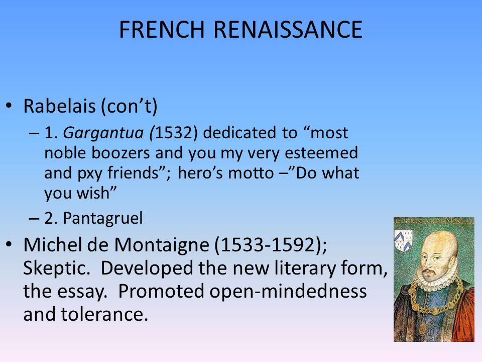 literature in renaissance era