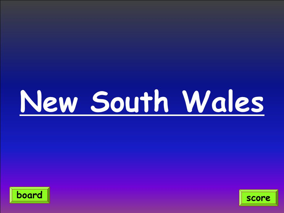 New South Wales score board