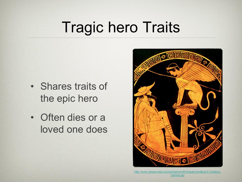 a report on the tragic hero oedipus