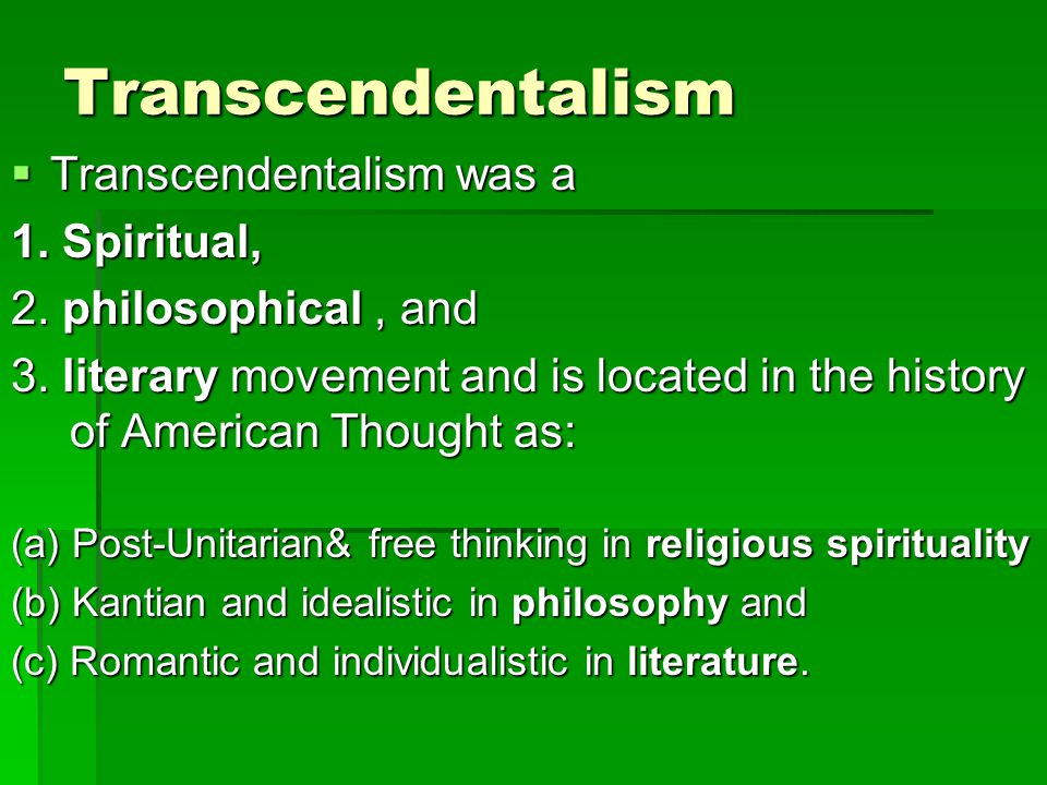 Ahab and transcendentalism Please help!!?