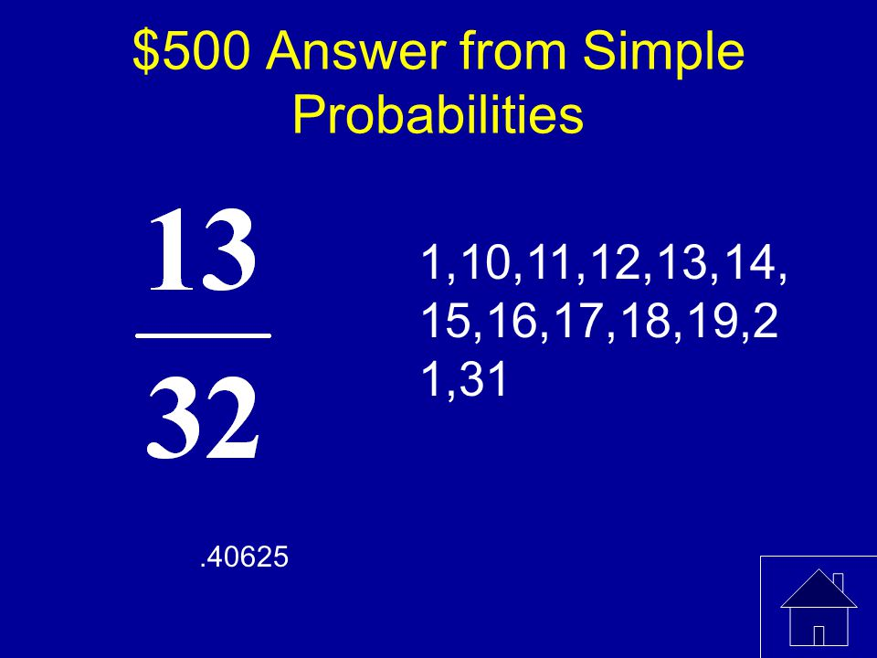 $500 Question from Simple Probabilities A book contains 32 pages numbered 1, 2,..., 32.