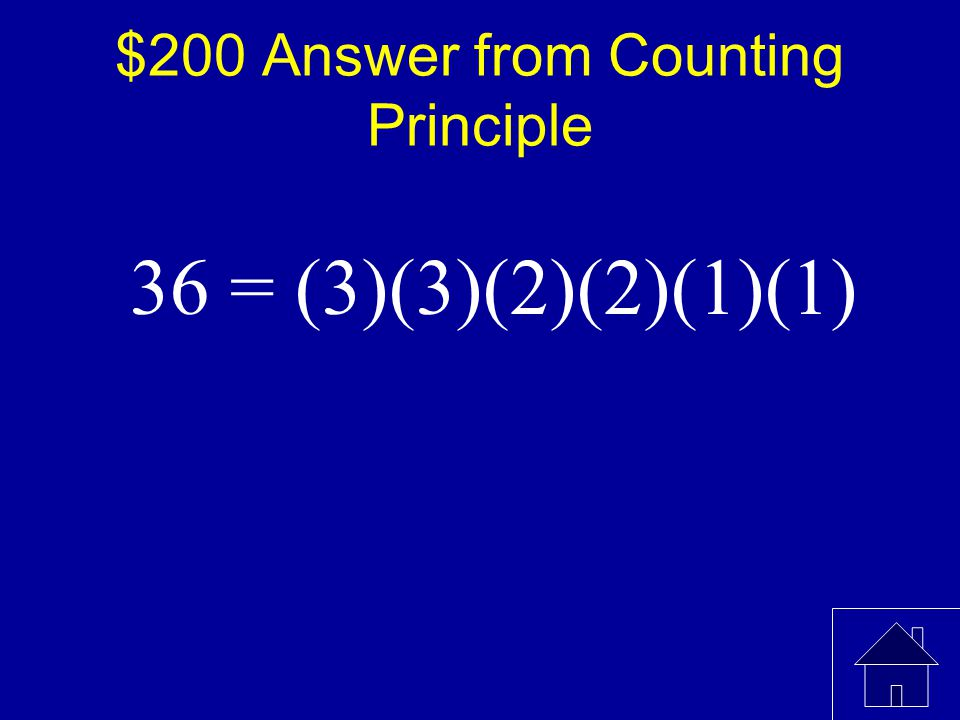 $200 Question from Counting Principle In how many arrangements can a teacher seat 3 girls and 3 boys in a row of 6 if the boys are to have the first, third, and fifth seats