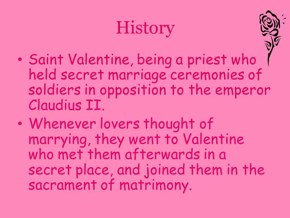 3 history saint valentine
