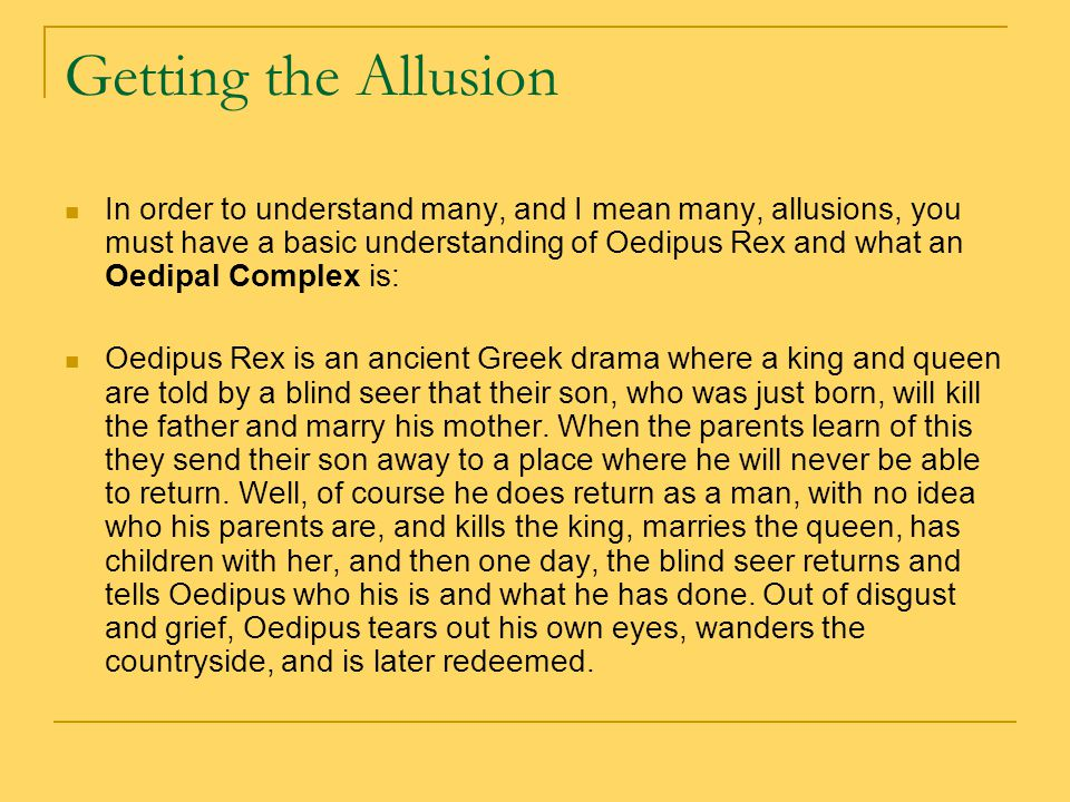 """oedipal complex Sigmund freud and """"the oedipus complex"""" sigmund freud (may 6, 1856–september 23, 1939) was an austrian neurologist  and the co-founder of the psychoanalytic school of psychology."""