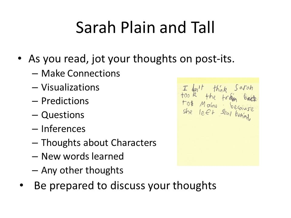 English worksheets: Sarah, Plain and Tall Vocabulary Test