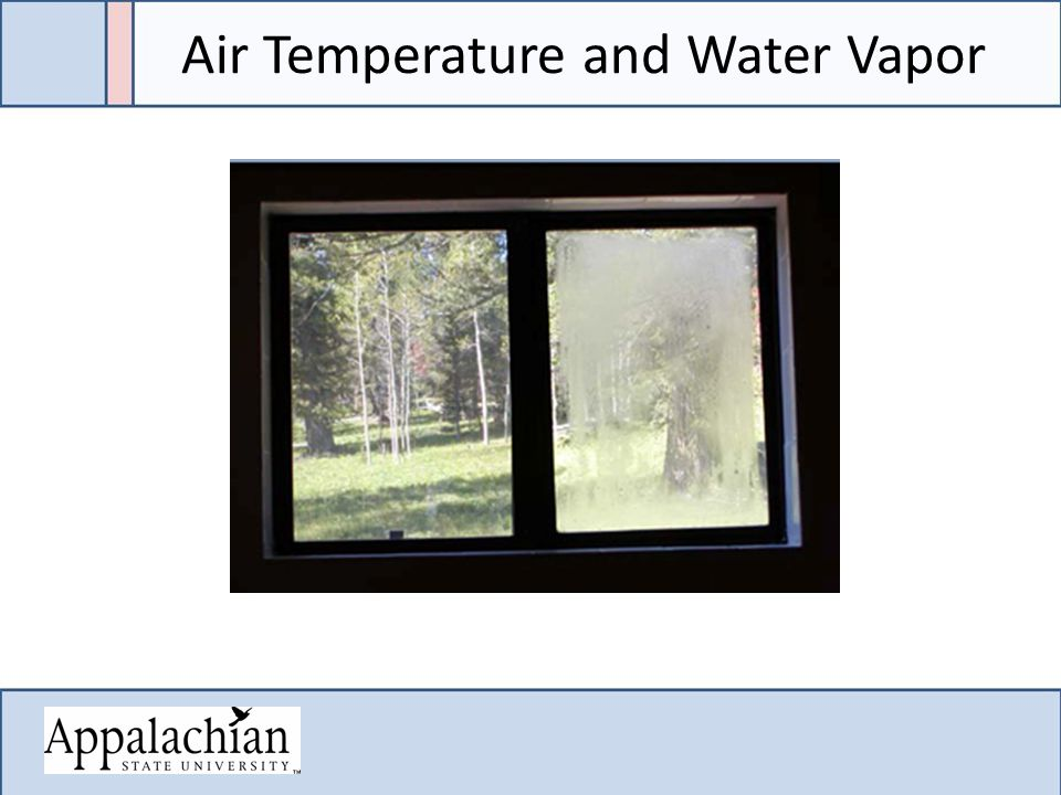 Air Temperature and Water Vapor