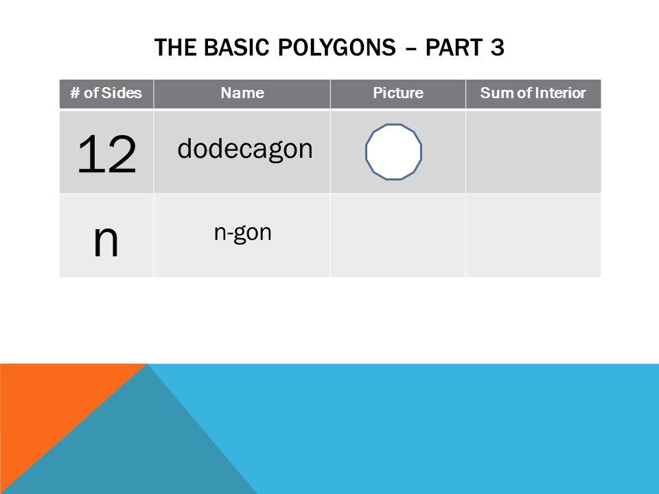 N Gon Definition Interior 12 n dodecagon n-