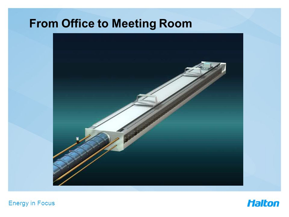 Energy in Focus From Office to Meeting Room