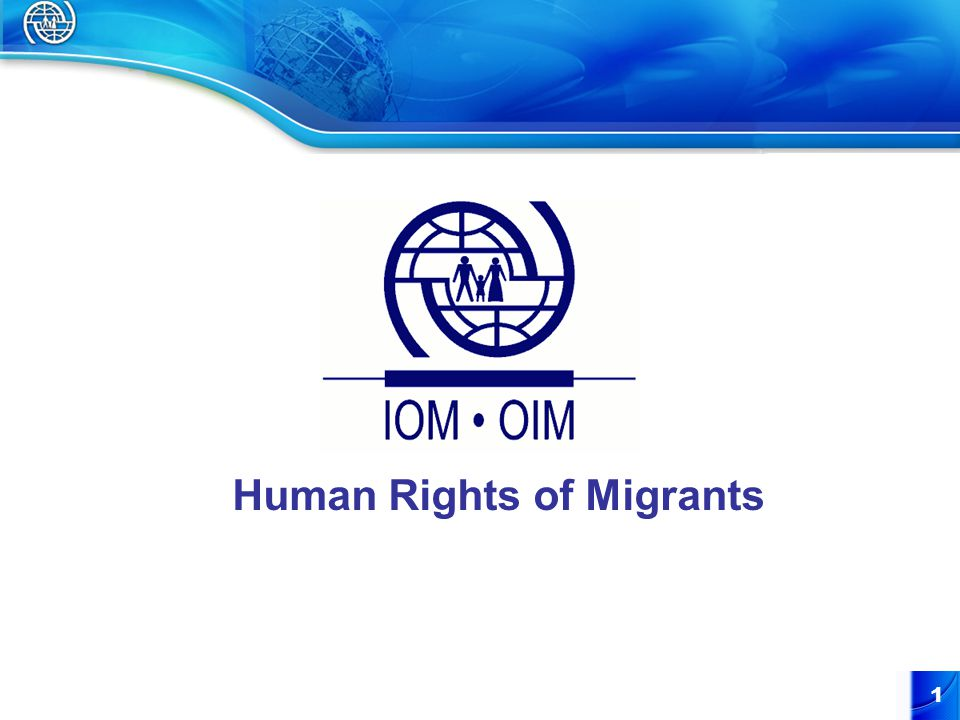 1 Human Rights of Migrants