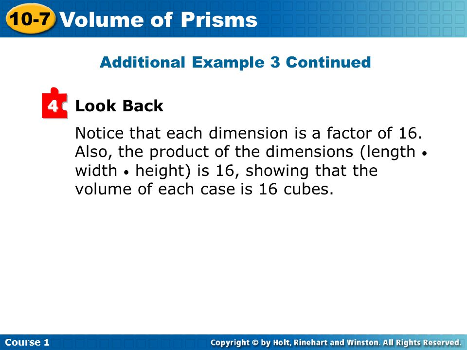 Notice that each dimension is a factor of 16.