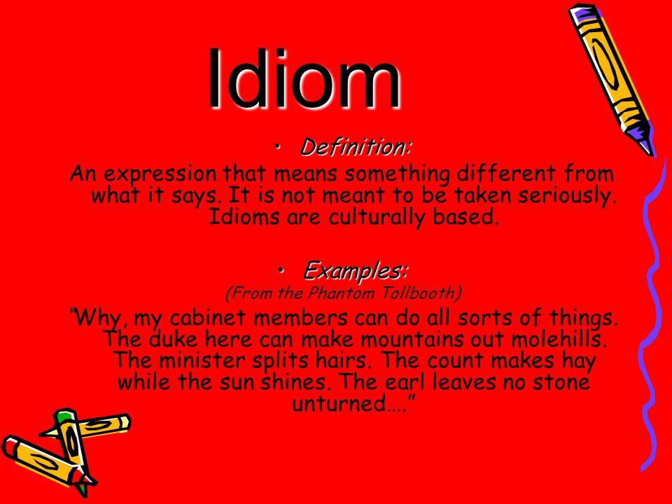 Idiom In Semantic