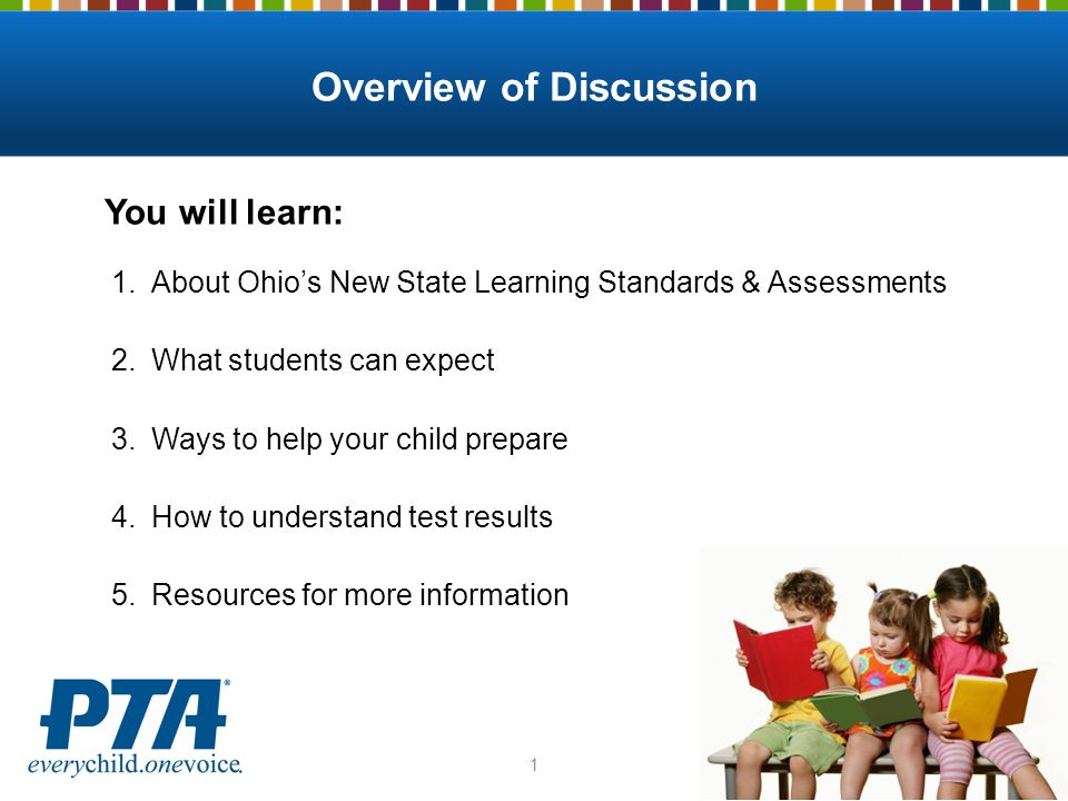 Ohio's State Assessments: What do families need to know