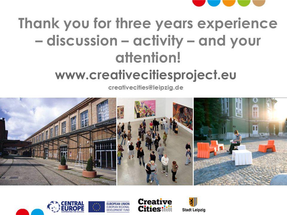Innova Leipzig eu project creative cities press conference susanne kucharski