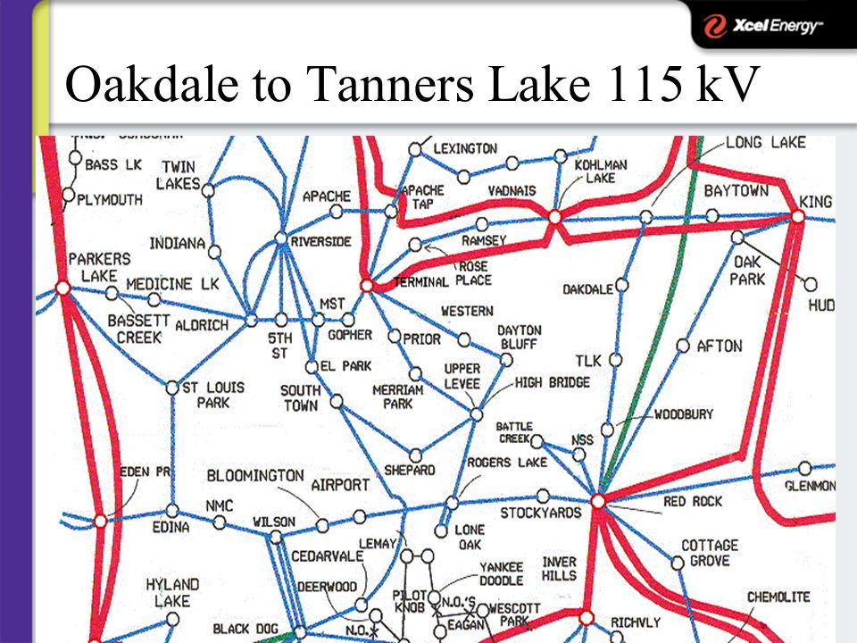 Oakdale to Tanners Lake 115 kV