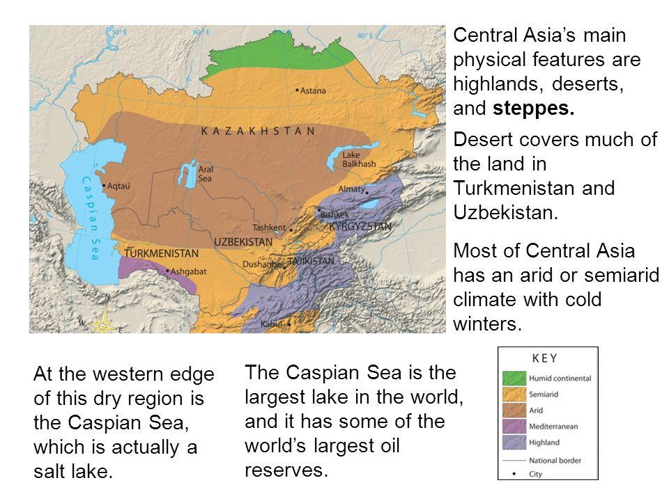 Former Soviet Central Asia Kazakhstan Turkmenistan Uzbekistan