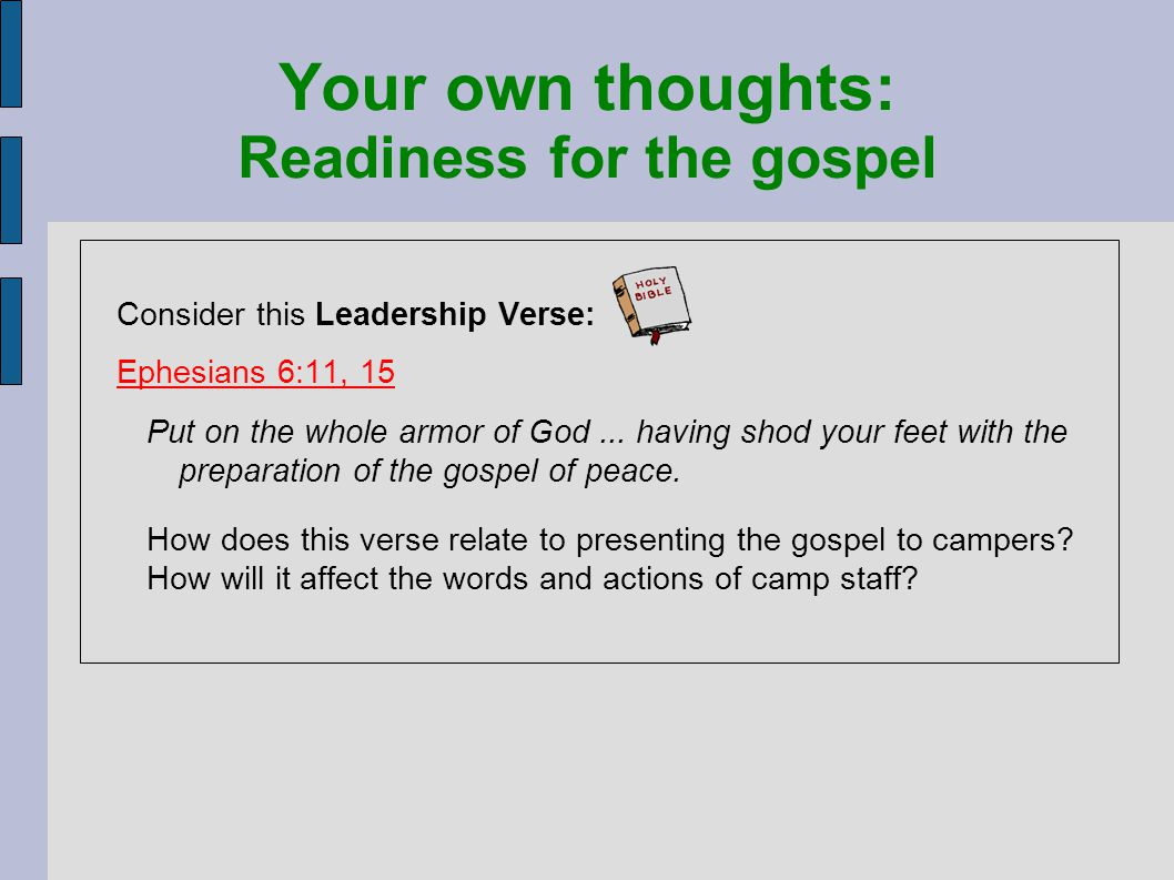 mountain view bible camp staff u0026 leadership training module 3
